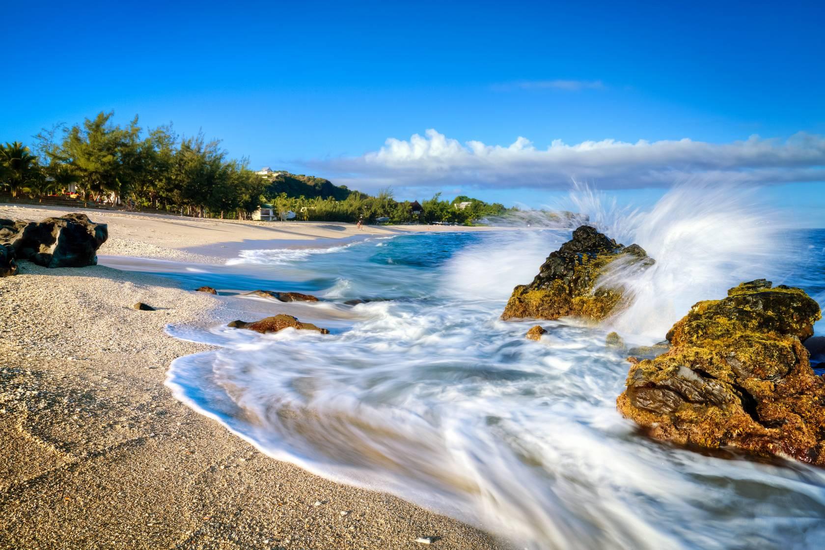 Photo plage île de la réunion